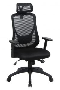 VIVA Office Ergonomic High Back Mesh Chair with Adjustable Headrest and Armrest (Viva1168F1)