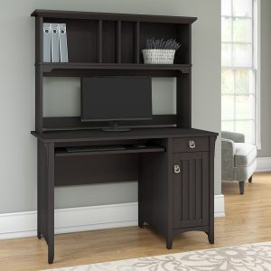 Bush furniture Salinas Mission style desk with hutch