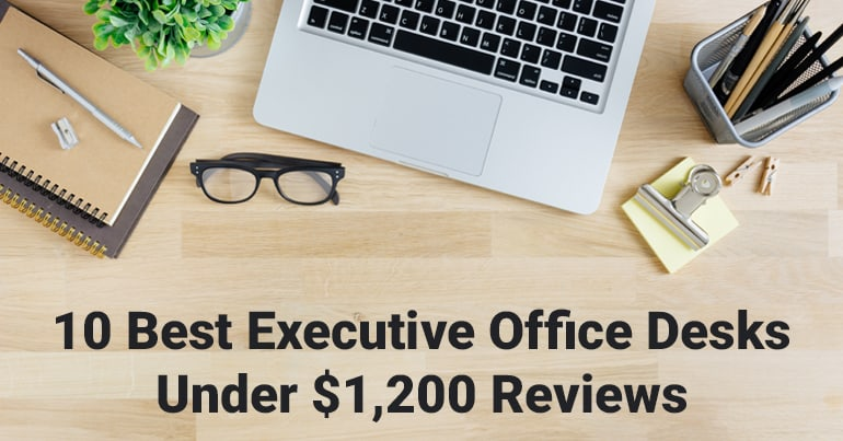 best executive office desks under 1200