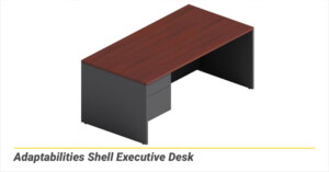 Adaptabilities Shell Executive Desk