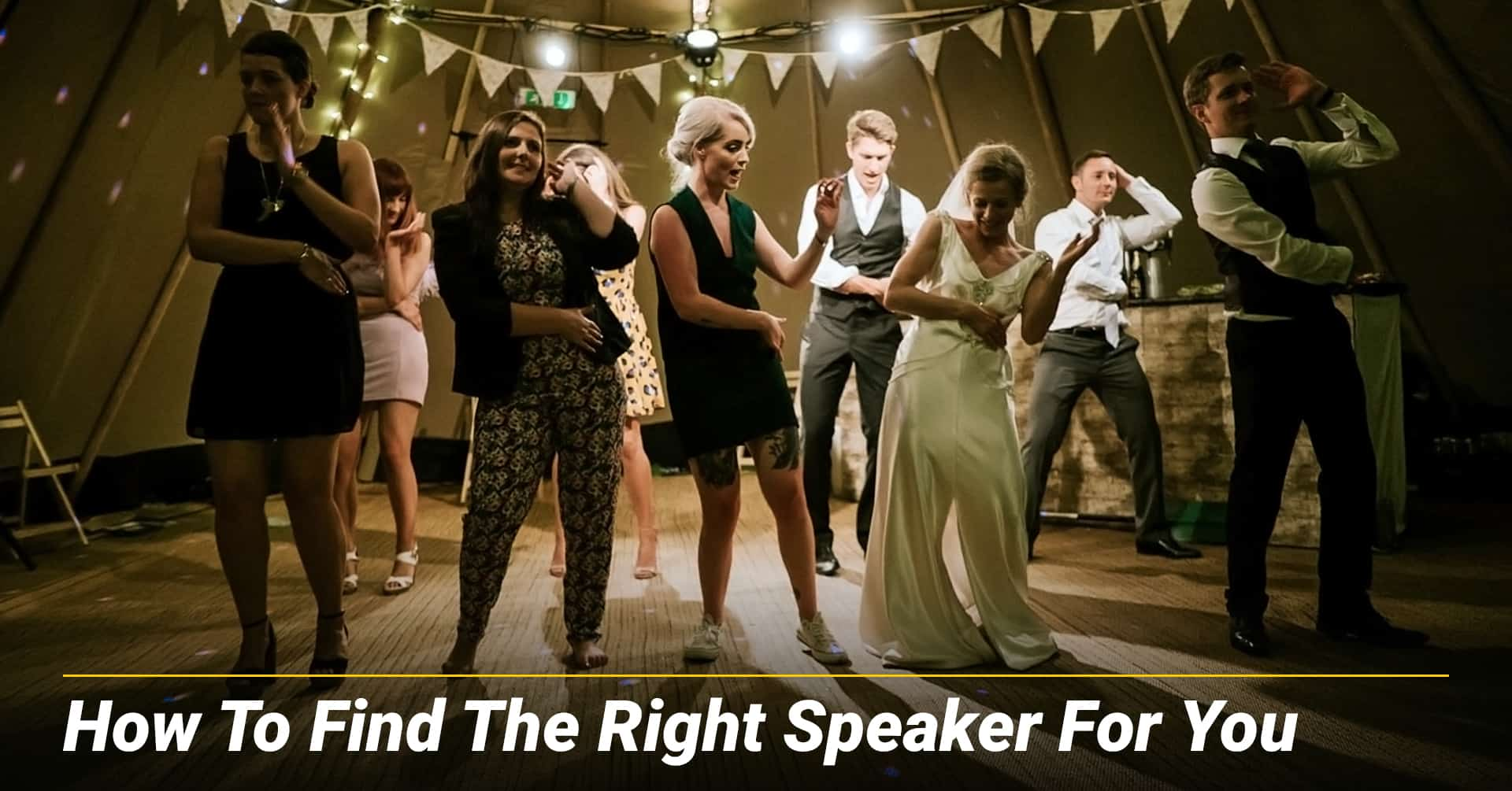 How To Find The Right Speaker For You