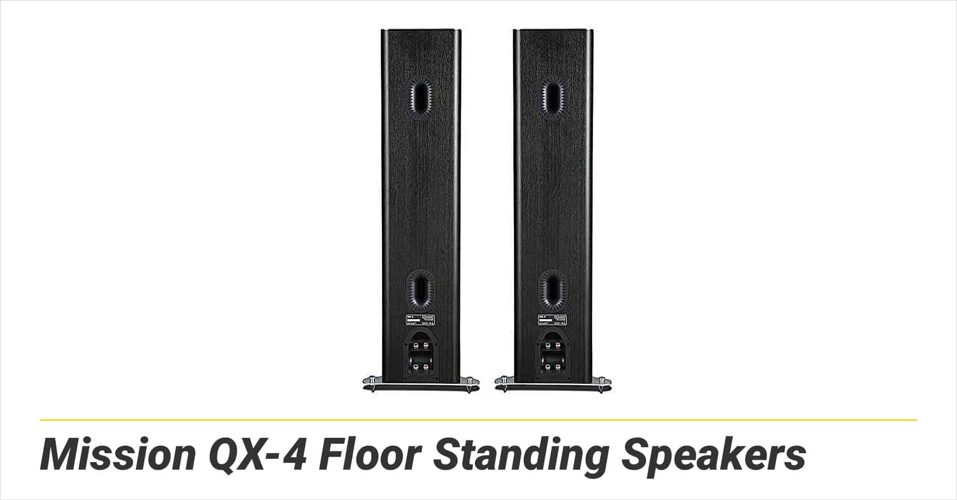 Mission QX-4 Floor Standing Speakers