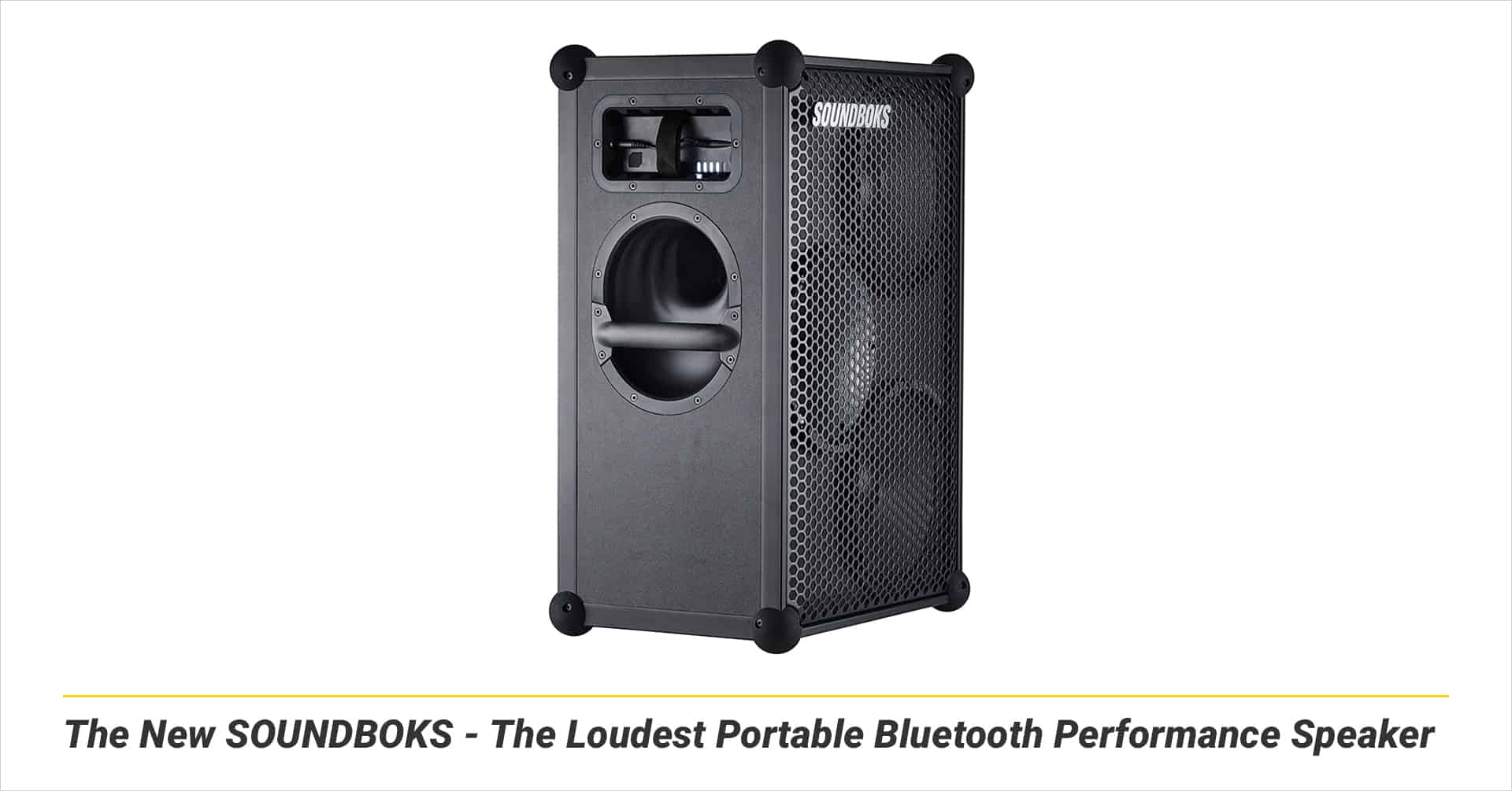 The New SOUNDBOKS - The Loudest Portable Bluetooth Performance Speaker